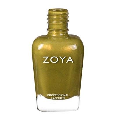 A bottle of ZOYA Eunice.