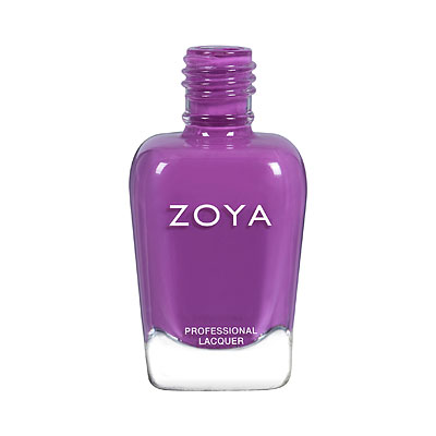 A bottle of ZOYA Lois.