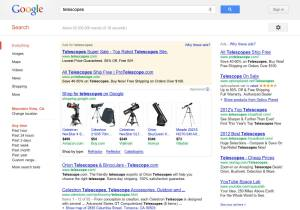 Google Ads Old Results