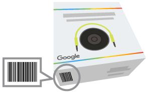 Google Merchant Center Barcodes