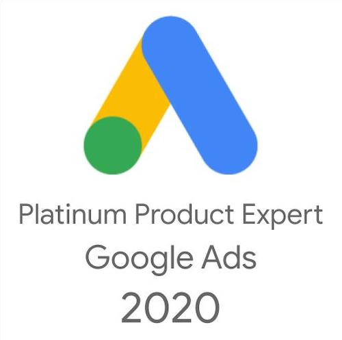 Google Ads Platinum Product Expert