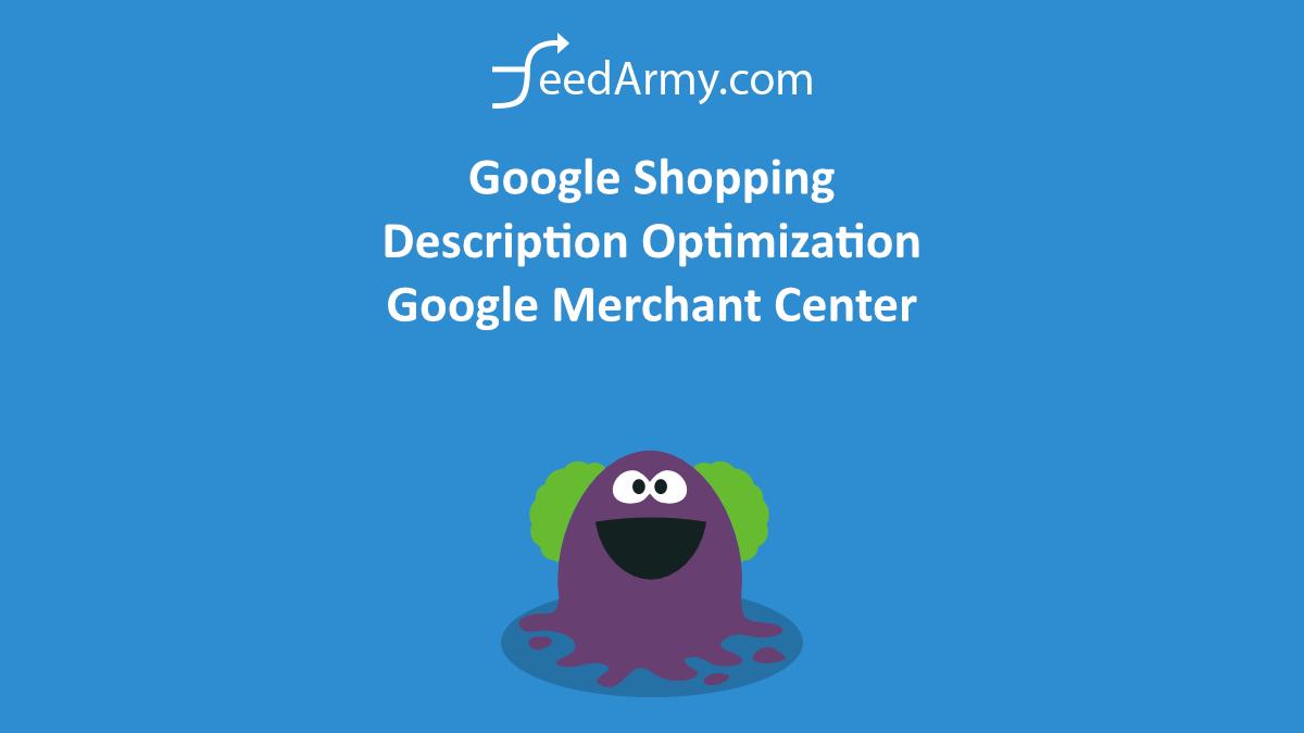 Google Shopping Description Optimization – Google Merchant Center