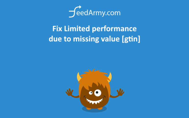 Fix Limited performance due to missing value [gtin]