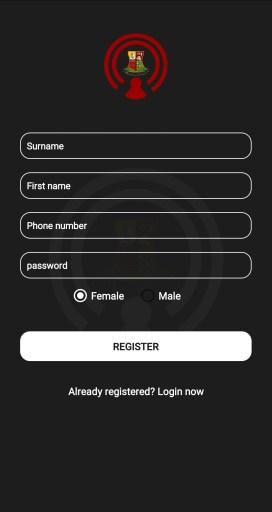 enter info