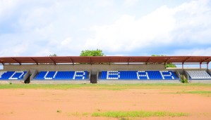 Picture of ongoing upgrade of Durbar Stadium, Oyo