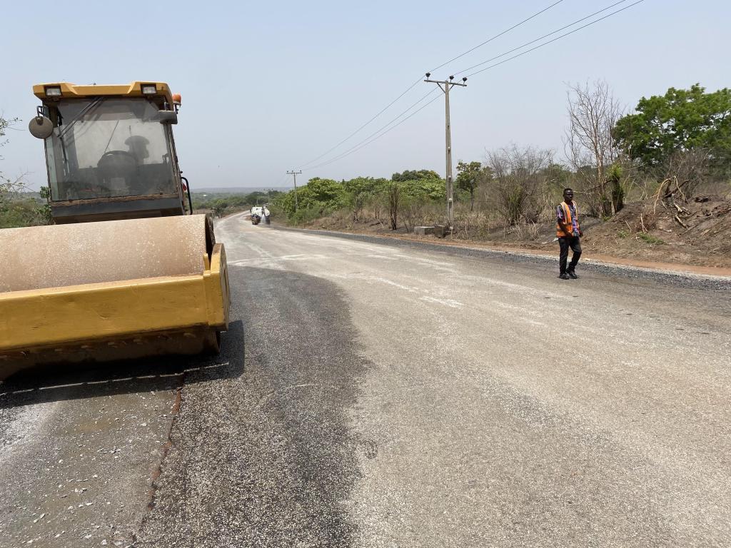 Saki Ogbooro Igboho Road 1