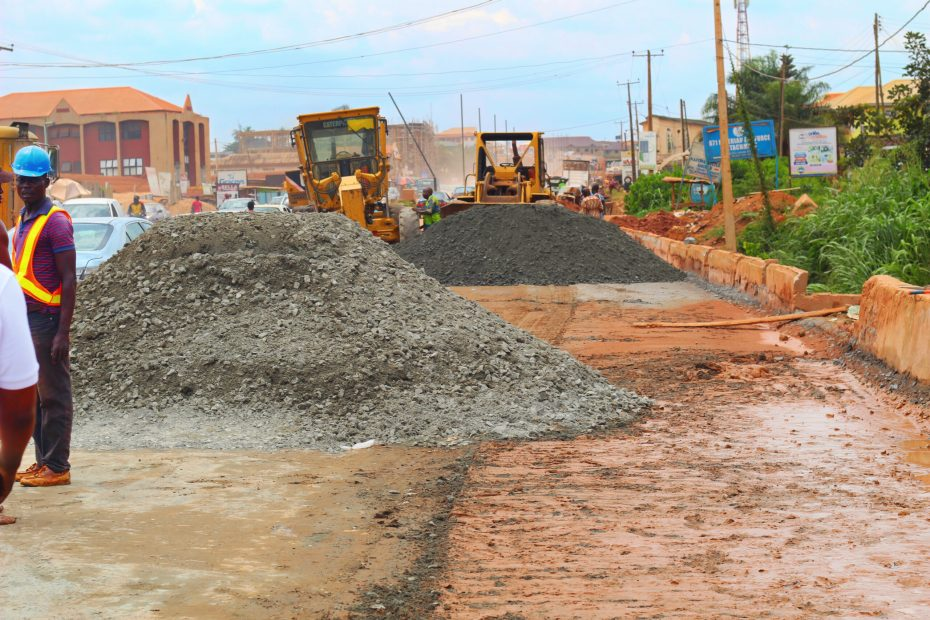 Picture of Idi Ape-Basorun-Akobo-Odogbo Barracks Road taken on July 7, 2021