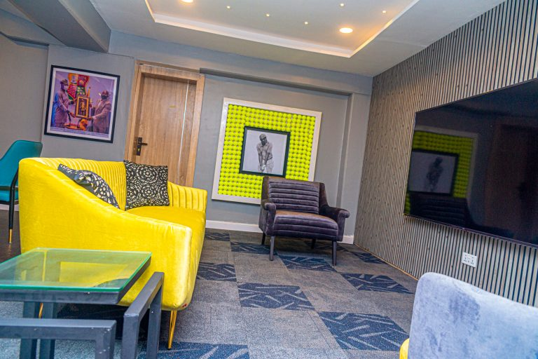 Picture of the VIP Lounge, Lekan Salami Sports Complex, Adamasingba Ibadan taken on August 30, 2021