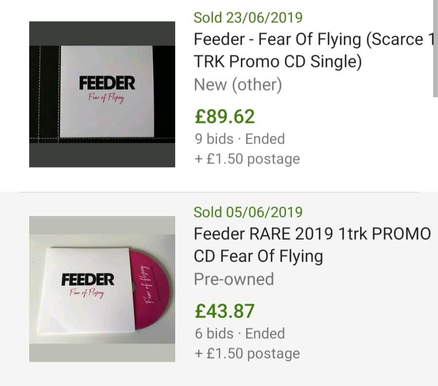eBay Madness: Fear of Flying bids
