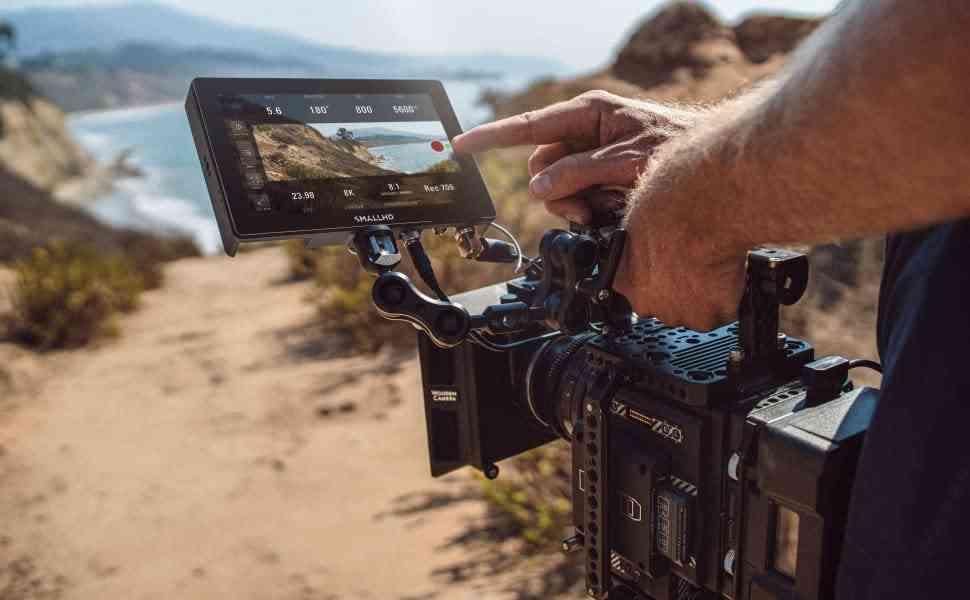 external camera screen