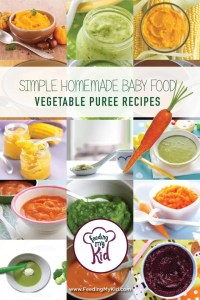 Simple Homemade Baby Food - Vegetable Puree Recipes ...