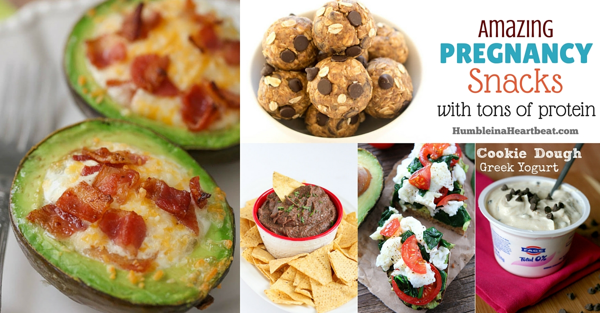 40+ Amazing Pregnancy Snacks with Tons of Protein ...