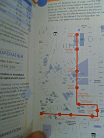Streetcar route