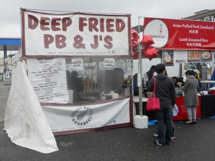 Deep Fried PB and J