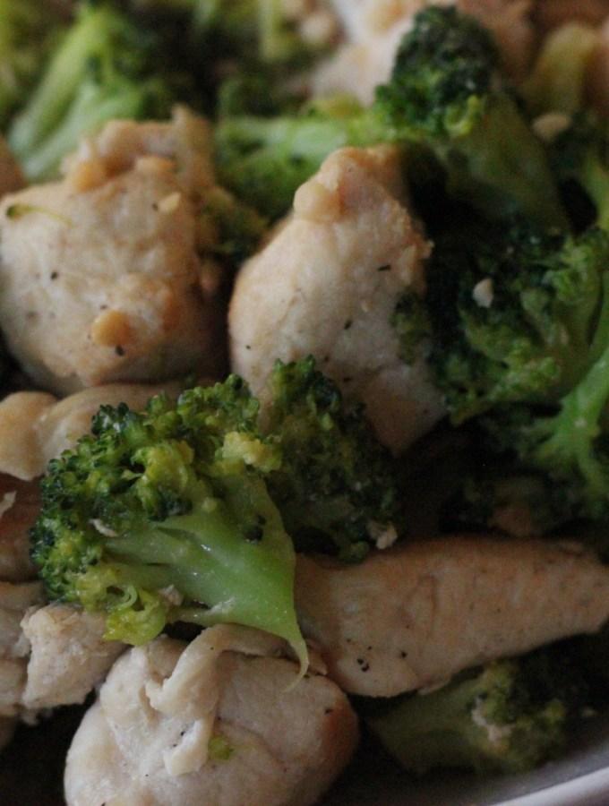 Garlic Butter Broccoli