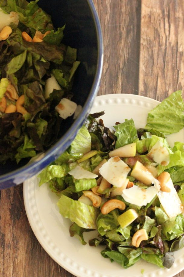 pear cashew salad