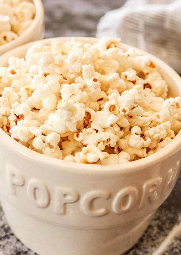 bowls of kettle popcorn