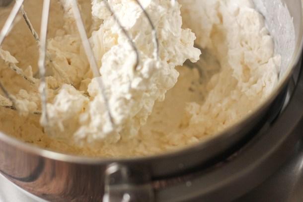 cream cheese whipped cream
