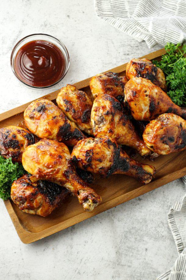 oven baked chicken legs