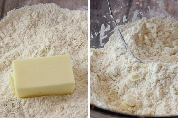 flour and butter