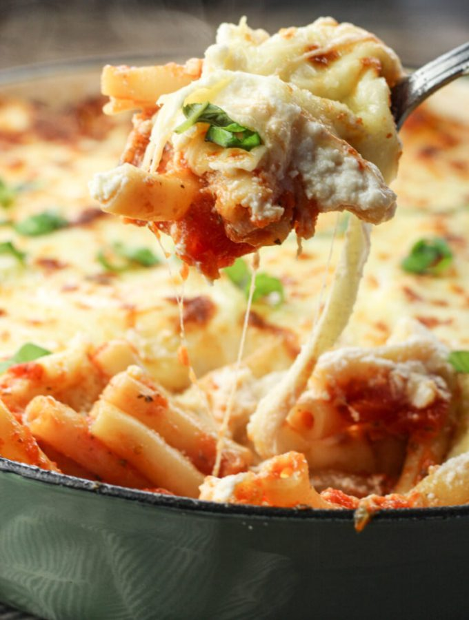 spoonful of baked ziti