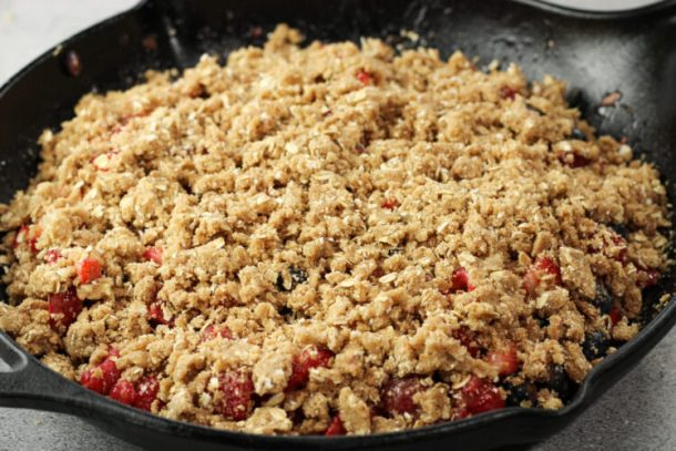 crumble topping