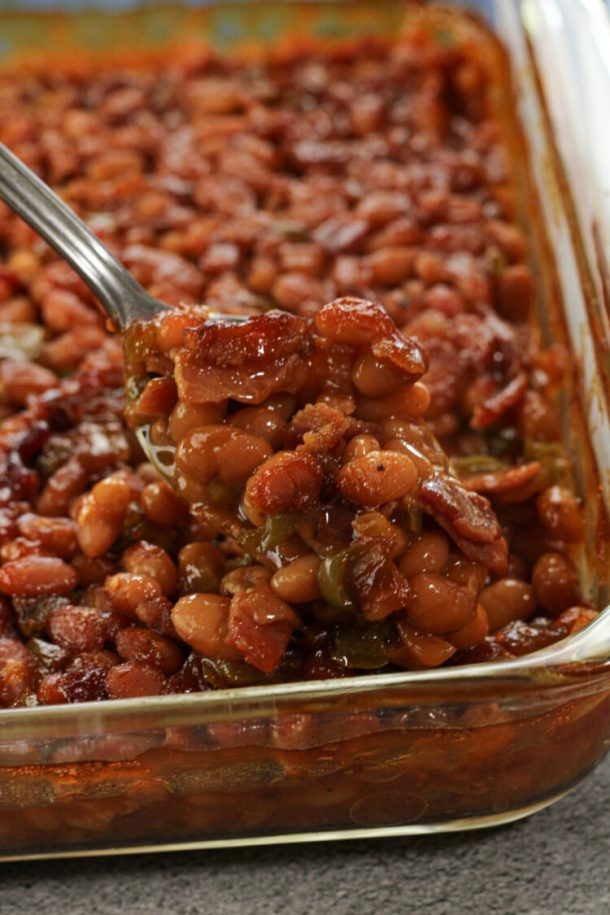 spoonful of baked beans