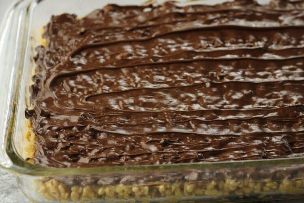 chocolate covered rice krispies