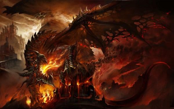 Epic Dragon Art