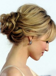 easy updos long hair