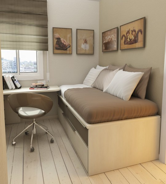 small bedroom spaces 30 Space Saving Beds For Small Rooms