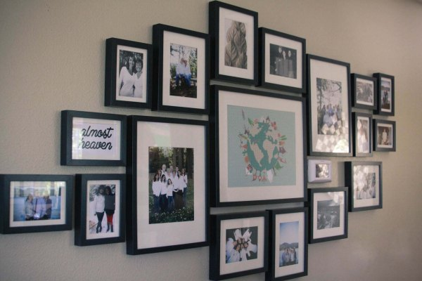 Family Picture Frame Wall Ideas