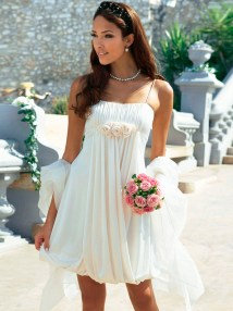Short Beach Wedding Dresses