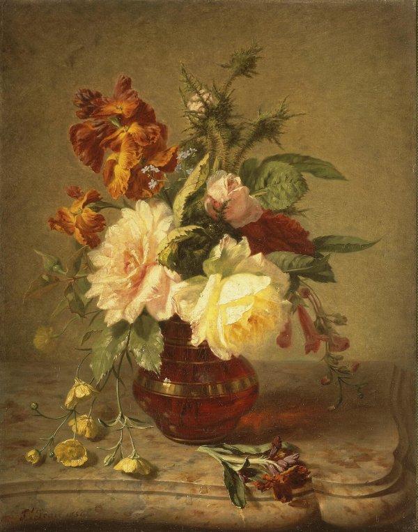 Flowers Oil Painting Artist
