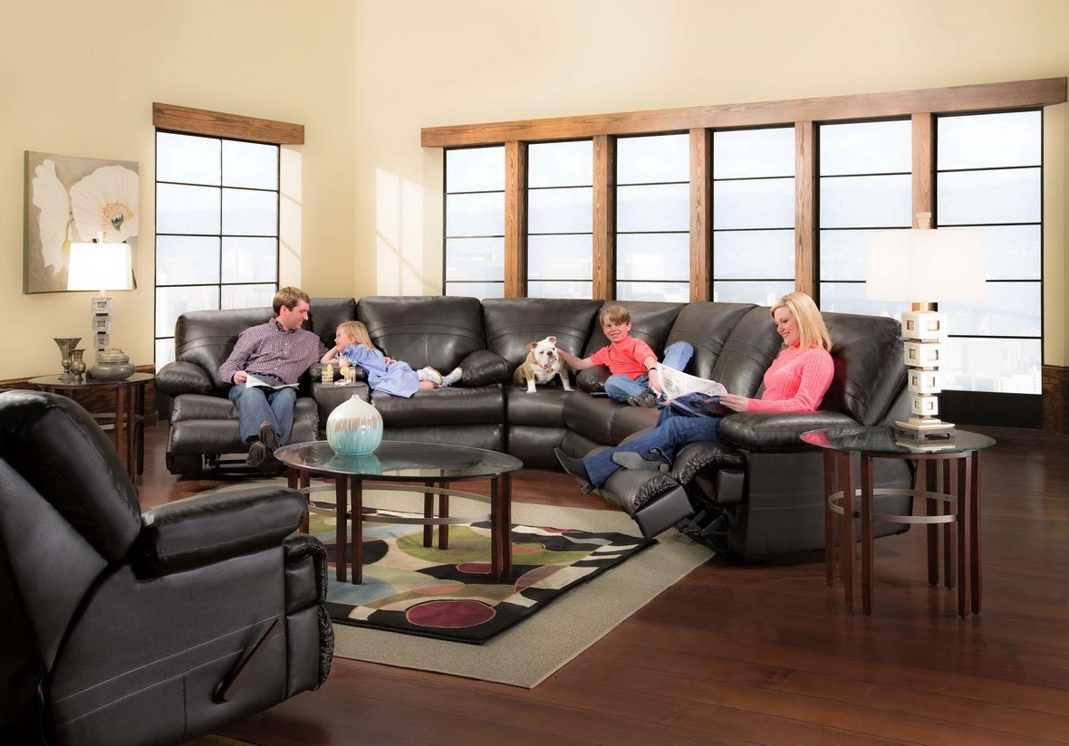 how to decorate a living room with black leather sectional 3 piece furniture set ideas