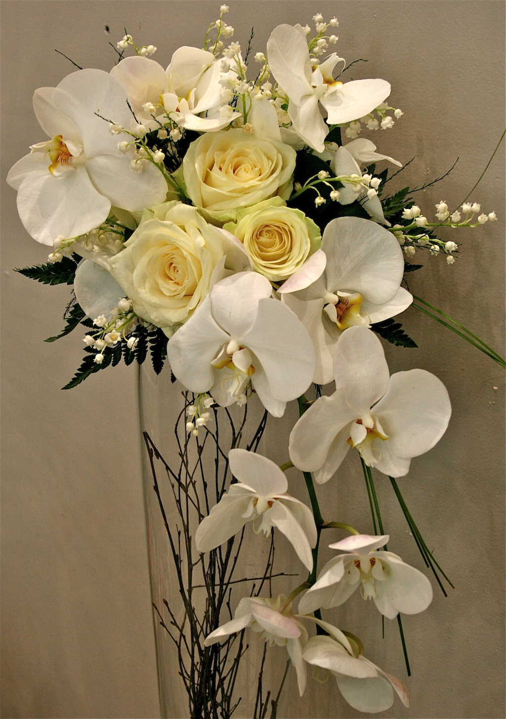 35 Beautiful Orchid Wedding Bouquets