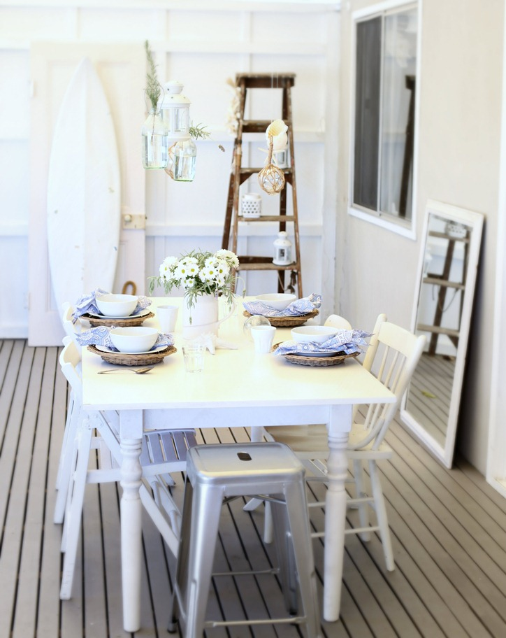 35 Beach Style Dining Room Design