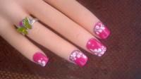 Cute Flower Nail Art Designs