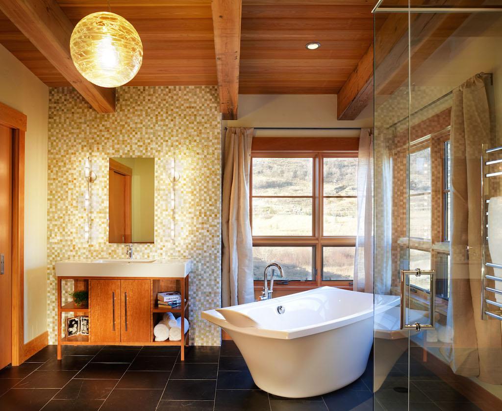 Cool Rustic Bathroom Design Ideas
