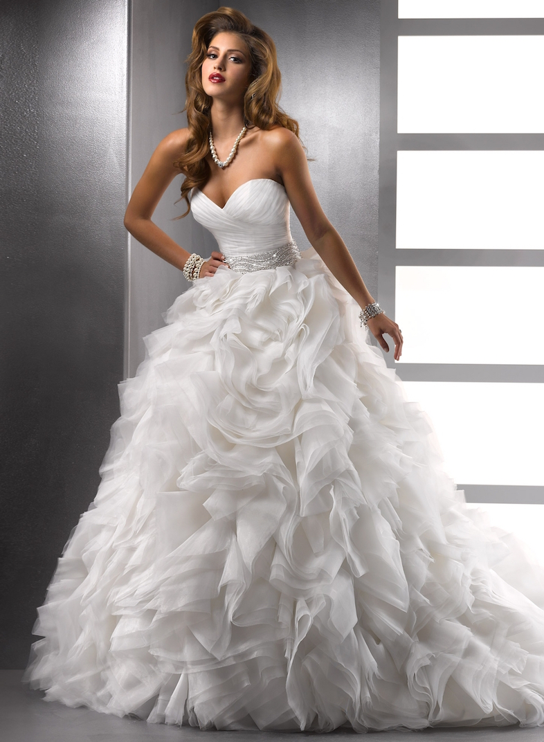 20 Beautiful Princess Wedding Dresses