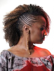 mohawk hairstyles woman