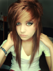 emo hairstyles girls - feed