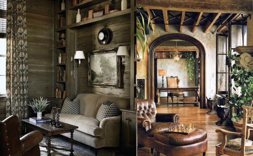 20 Stunning Rustic Living Room Design Ideas
