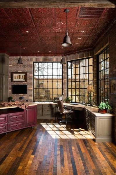 rustic home office design 25 Awesome Rustic Home Office Designs - Feed Inspiration