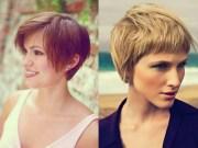 short haircuts thick