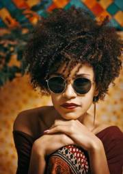 afro hairstyles african