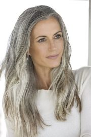 impressive gray hairstyles