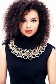 mixed curly hairstyles chicks