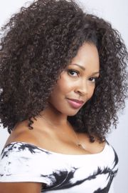 kinky curly hairstyles