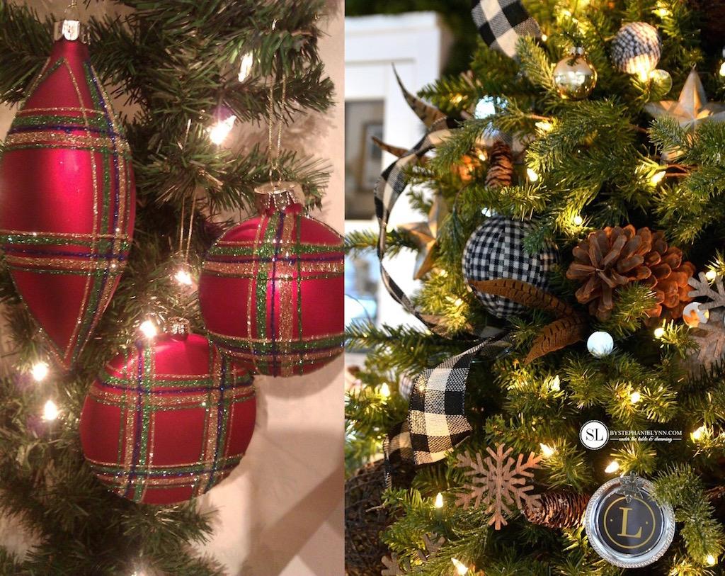 21 Plaid Christmas Ornaments Decorating ideas  Feed